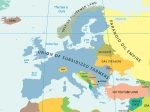 European stereotypes, a composite map